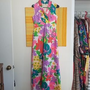 Unreal Vintage Floral Gown